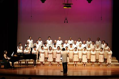 Grey Youth Choir members